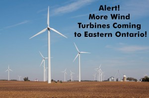 Alert!  More Wind Turbines Coming To Ontario