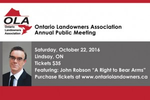 OLA Annual Public Meeting and AGM – 2016